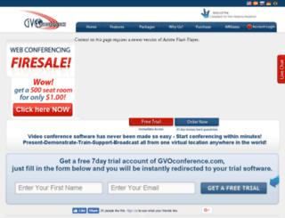 atago.gvoconference.com screenshot
