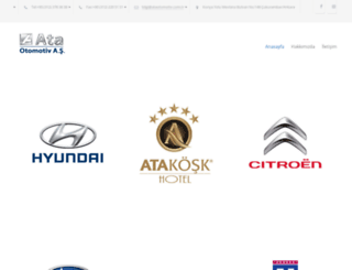 ataotomotiv.com.tr screenshot