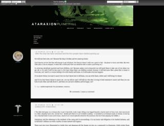 ataraxion.dreamwidth.org screenshot