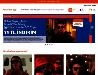atasunoptik.com.tr screenshot