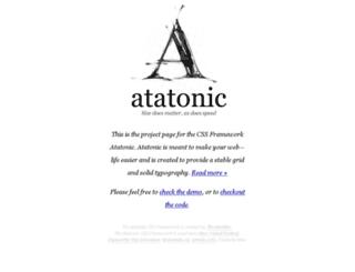 atatonic.timbenniks.nl screenshot