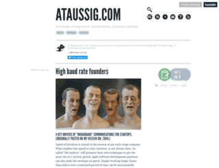 ataussig.com screenshot