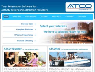 atcosoftware.com screenshot