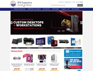 atdcomputers.com screenshot