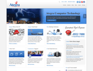 ategra.com.au screenshot