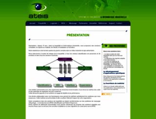 ateis-eu.com screenshot