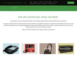 atelephonesystem.com screenshot