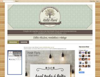 ateliefloradg.blogspot.com.br screenshot