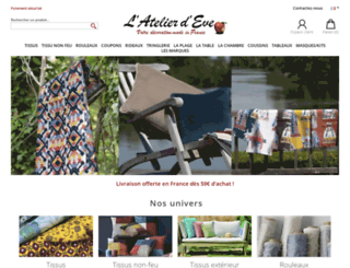 atelier-d-eve.com screenshot