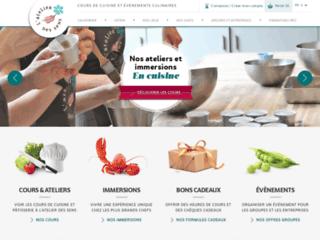 atelier-des-sens.com screenshot