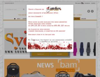atelier-des-vents.com screenshot