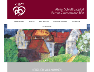 atelier-schloss-batzdorf.de screenshot
