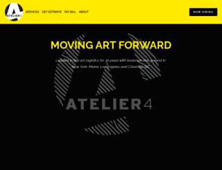 atelier4.com screenshot