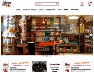 atelierchezsoi.fr screenshot