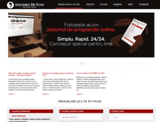 atelieruldetuns.ro screenshot