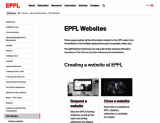 atelierweb.epfl.ch screenshot