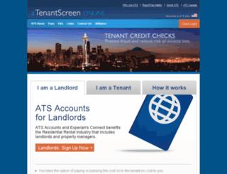 atenantscreen.com screenshot