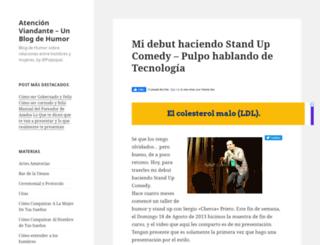 atencionviandante.com screenshot