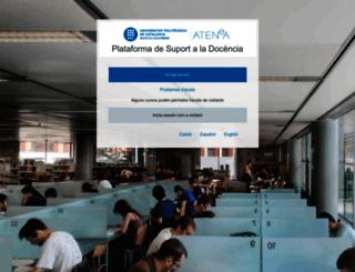 atenea.upc.es screenshot