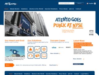 atentousa.com screenshot