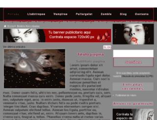 aterrorizadas.com screenshot
