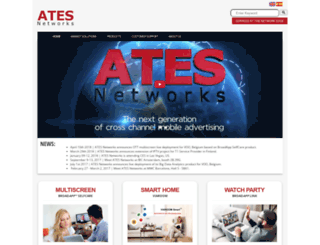 atesnetworks.com screenshot