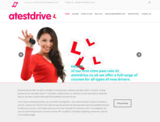 atestdrive.co.uk screenshot