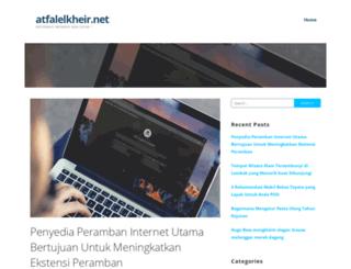 atfalelkheir.net screenshot