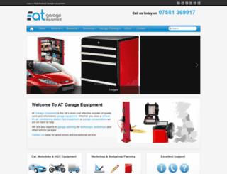 atgarage-equipment.com screenshot