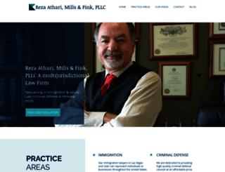 atharilaw.com screenshot