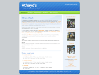 athayds.com.br screenshot