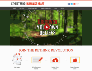atheistmindhumanistheart.com screenshot