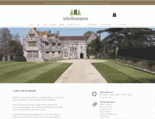 athelhampton.co.uk screenshot