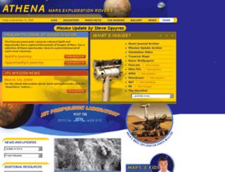 athena.cornell.edu screenshot