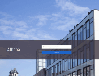 athena.ugent.be screenshot