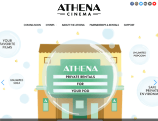 athenacinema.com screenshot