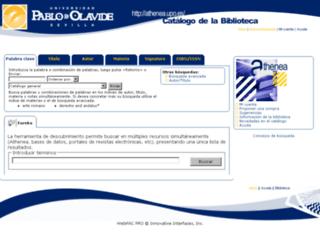 athenea.upo.es screenshot