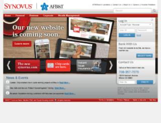 athensfirstbank.com screenshot