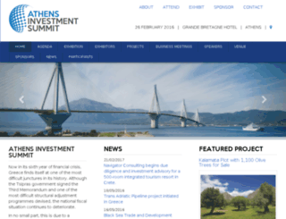 athensinvestmentsummit.com screenshot