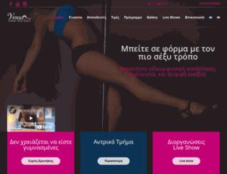 athenspoledance.com screenshot
