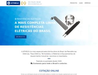 athiele.com.br screenshot