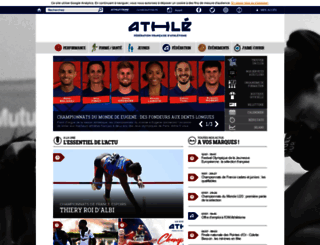 athle.com screenshot