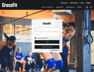 athlete.crossfit.com screenshot