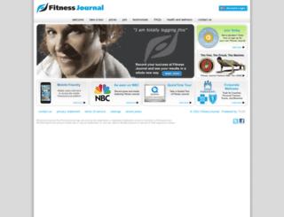 athlete.fitnessjournal.org screenshot