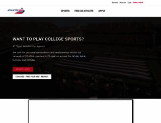 athletes-usa.com screenshot