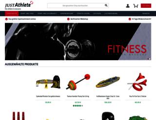 athleteshop.de screenshot