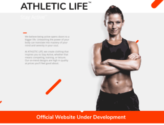athleticlife.com screenshot