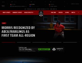 athletics.dyc.edu screenshot