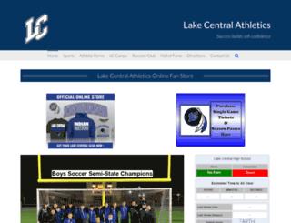 athletics.lcsc.us screenshot