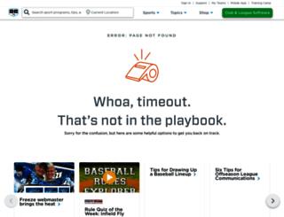athletics.legendtitans.org screenshot